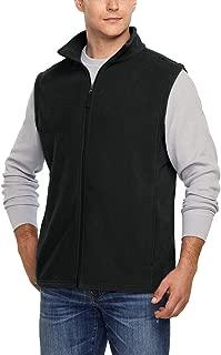 Tesla Men's Full Zip Thermal Active Polar Fleece Long Sleeve Jacket/Vest Top