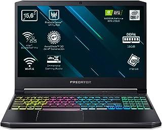 "Acer Predator Helios 300 PH315-53 - Portátil Gaming 15.6"" FullHD (Intel Core i7-10750H, 16B RAM, 1TB SSD, Nvidia RTX2060, ..."