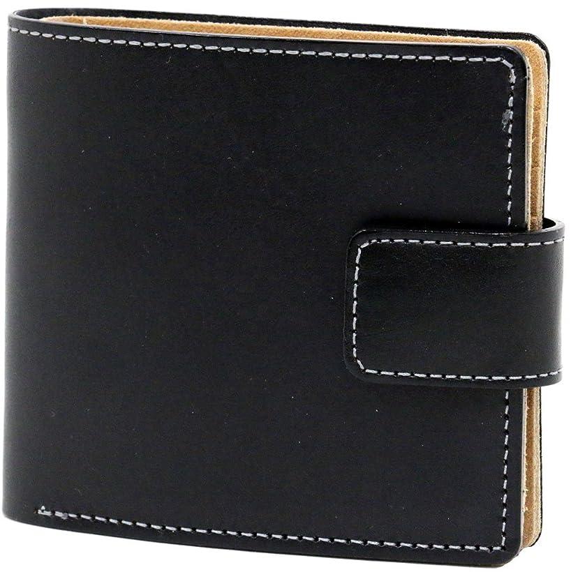 怒っている言い直すピッチ[イギンボトム] 財布 姫路レザー 二つ折り財布 日本製 メンズ