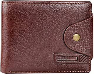 Pocket Wallet, Short Men's Wallet with Coin Pocket Qualitty Guarantee Leather Purse for Male Restor Card Holder
