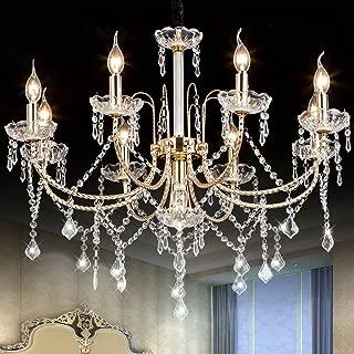 crystal dining room light