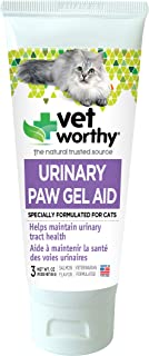 Vet Worthy Urinary Paw Gel Aid for Cats (3 oz)
