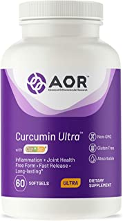 AOR, Curcumin Ultra, Fast-Acting Joint Support, 60 Softgels