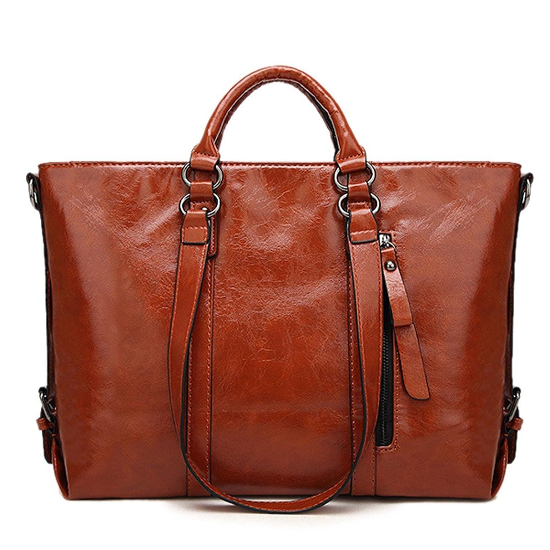 法的バンドホステスファッション > レディース > バッグ?財布 > バッグ > ショルダーバッグ/Women Leather Minimalist Royal Handbag Leisure Business Shoulder Purse Bag Tote