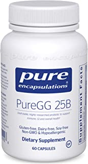 Pure Encapsulations - PureGG 25B - Promotes GI and Immune Health Across All Ages - 60 Capsules
