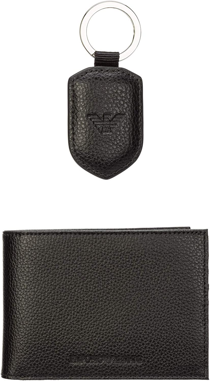 Emporio Armani Men's Bi Fold Gift Set