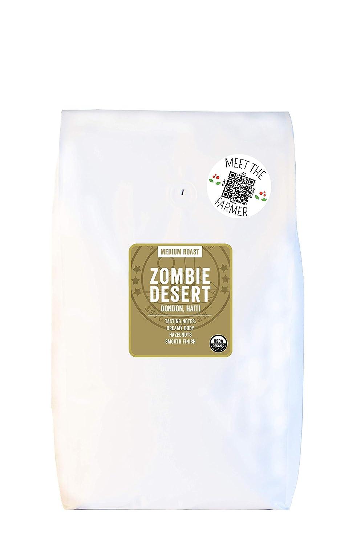 Cafe Kreyol Organic Zombie Desert 5 lb Haitian - Medium Blue Max 53% OFF NEW before selling ☆ R
