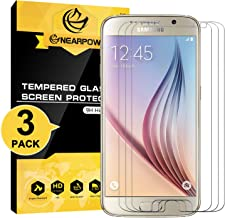 [3 Pack] Samsung Galaxy S6 Screen Protector, Nearpow [Tempered Glass] Screen Protector..