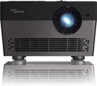 Optoma UHL55 4K LED Smart Projector with HDR, Bright 1500 lumens, Works with Alexa and Google Assistant, for Home Theaters...