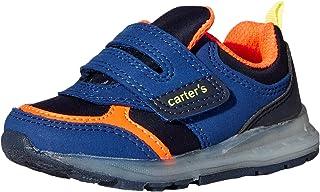 Carter's Kids' Liner Light Up Hook and Loop Slip on Athletic Shoe Sneaker