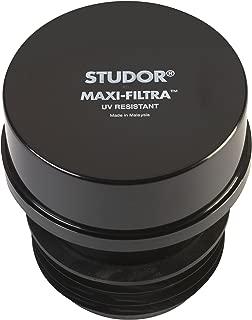 Studor 20297 Maxi-Filtra ABS Air Admittance Valve, Black
