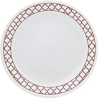 Corelle Livingware 8.5 inch Luncheon Plate BP Crimson Trellis