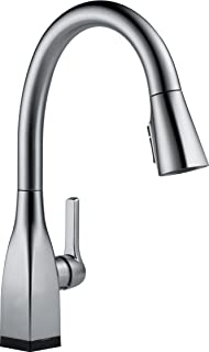 Delta Faucet Mateo Single-Handle Touch Kitchen Sink Faucet with Pull Down Sprayer, Touch2O and ShieldSpray Technology, Mag...
