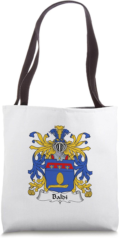 Baldi Coat of Arms - Family Crest Tote Bag