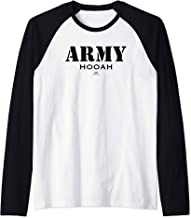 VTV- Army Hooah Raglan Baseball Tee