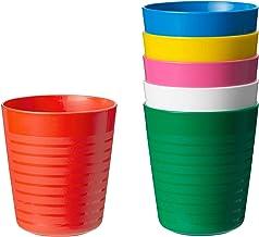 Kalas 304.212.97 Trinkglas, BPA-frei, mehrfarbig, 6 Stück,