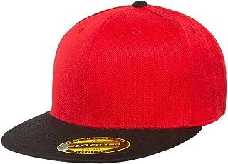 Flexfit Premium 210 Fitted Flat Brim Baseball Hat