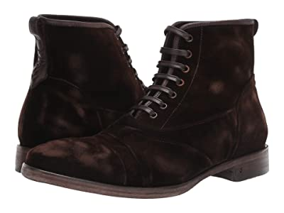 John Varvatos Collection Fleetwood Lace Boot (Dark Brown) Men