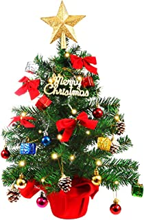 Best tabletop christmas tree made from ornaments Reviews