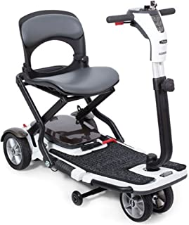 Pride Mobility - Go-Go Folding Travel Compact Scooter - 4-Wheel - White