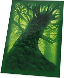 Ultimate Guard Magic The Gathering Sleeves Lands Edition Card Game (80 Pack), Forest, One Size