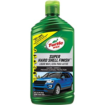Turtle Wax T-123R Super Hard Shell Liquid Car Wax - 16 oz.