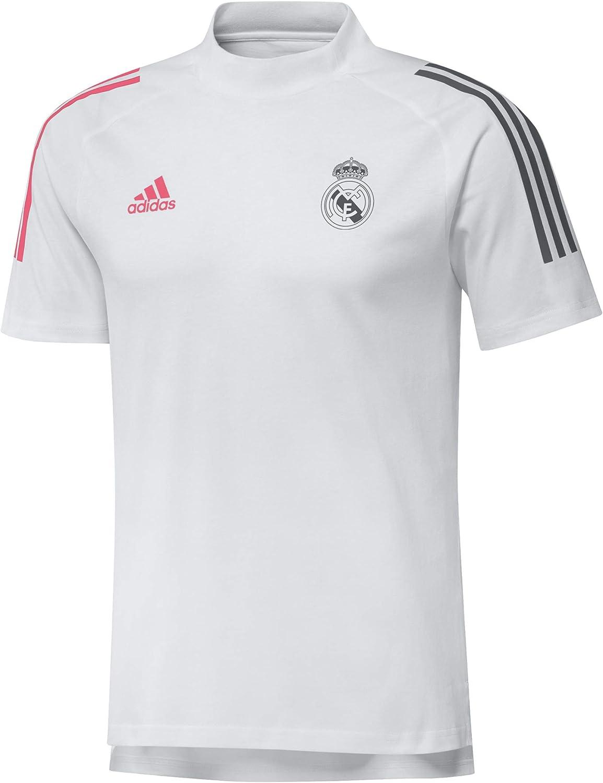 adidas Real Madrid Temporada 2020/21 Real tee Camiseta Unisex Adulto