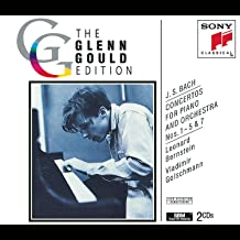 Bach: Concertos for Piano and Orchestra Nos. 1-5 & 7 The Glenn Gould Edition