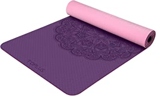 TOPLUS Yoga Mat - Classic 1/4 inch Pro Yoga Mat Eco Friendly Non Slip Fitness Exercise Mat with Carrying Strap-Workout Mat...