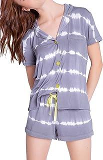 PJ Salvage Women's Loungewear Happy Days Pajama Pj Set