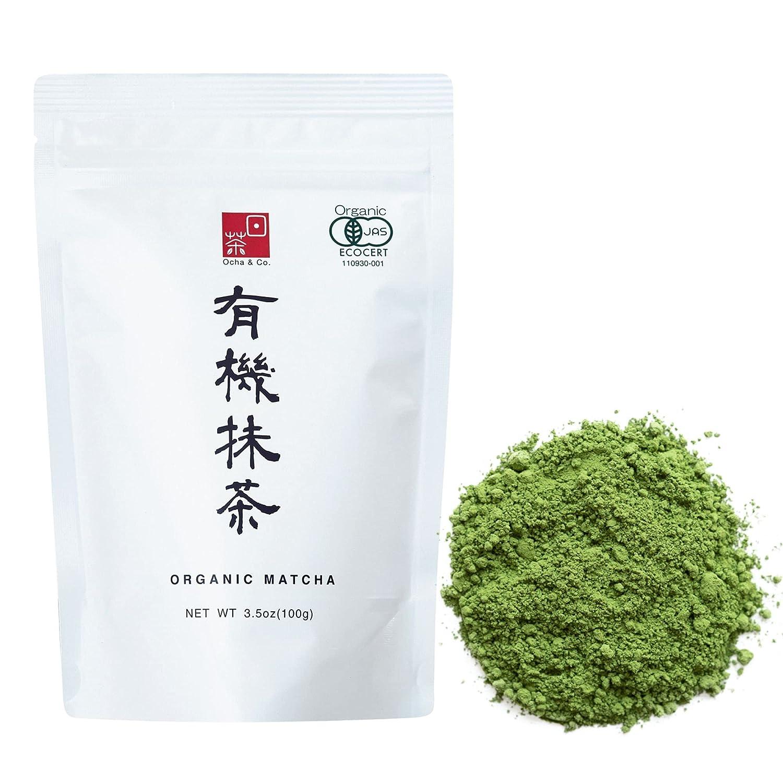 Ocha Co. Japanese Ranking TOP12 Tea - half Green Powder Organic Trad Matcha