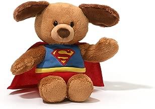 GUND DC Comics Superman Dog Stuffed Animal Bendable Plush, 8