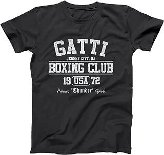 Funny Threads Outlet Gatti Boxing Club Organized Crime Mafia Mens Shirt