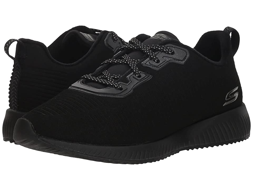 BOBS from SKECHERS Bobs Squad Team Bo (Black/Black) Women