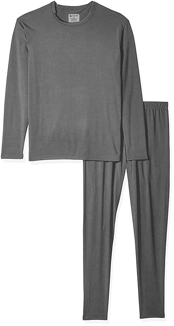 9M Men's Ultra Soft Thermal Underwear Base Layer Long Johns Set with Fleece Lined oqolkyso5