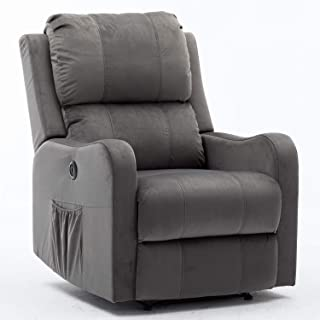 wingback recliners fabric