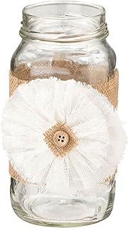 أغطية زجاجية من خيش ريستيك كانتري من ليليان روز