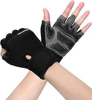 Cevapro トレーニンググローブ 筋トレグローブ ウェイトトレーニング ジム リストフラップ付き 手首保護 滑り止め防止 通気性 洗濯可能 男女兼用