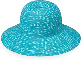 Wallaroo Hat Company Women's Petite Scrunchie Sun Hat - UPF 50+, Packable for Every Day, Designed in Australia.