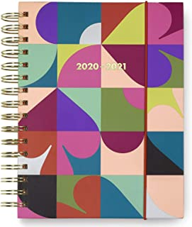 Kate Spade New York Large 2020-2021 Planner Weekly & Monthly, 17 Month Hardcover Personal Planner Dated Aug 2020 - Dec 2021 with Stickers, Pocket, Tab Dividers, Notes/Holiday Pages, Spade Dot Geo