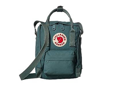 Fjallraven Kanken Sling (Frost Green) Cross Body Handbags