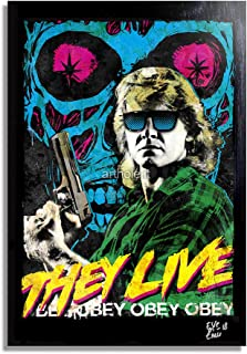 They Live John Carpenter Movie POSTER Licensed Adult Tank Top All Sizes
