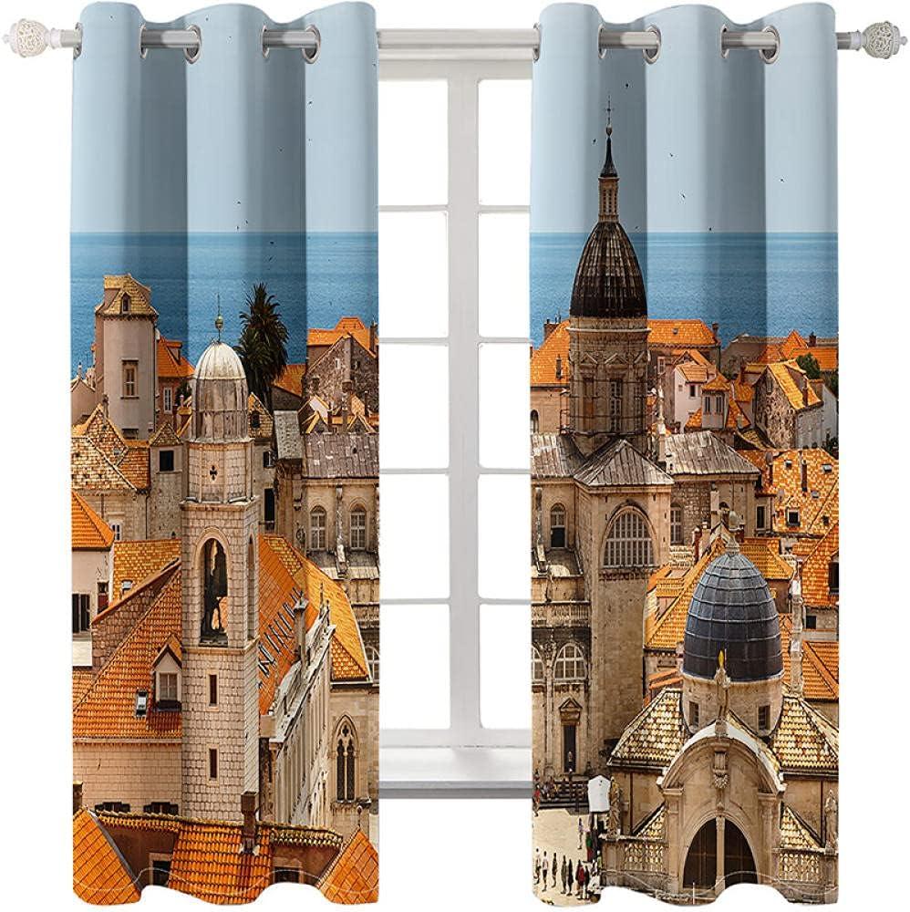 Eyelet Curtain Drapes 2 New popularity Panels 52
