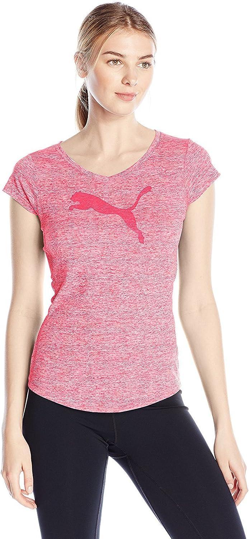 PUMA Women's Her Heather Cat T-Shirt