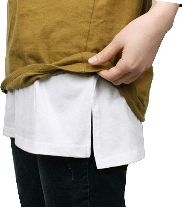 Women Stylish Adjustable Layering Top Lower Sweep Skirt Casual Half-Length Splitting a Version Mini Base Skirt