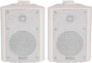Adastra 100.901UK 70W Blanco Altavoz - Altavoces (De 2 vías, Alámbrico, 70 W, 110-20000 Hz, 8 Ω, Blanco)