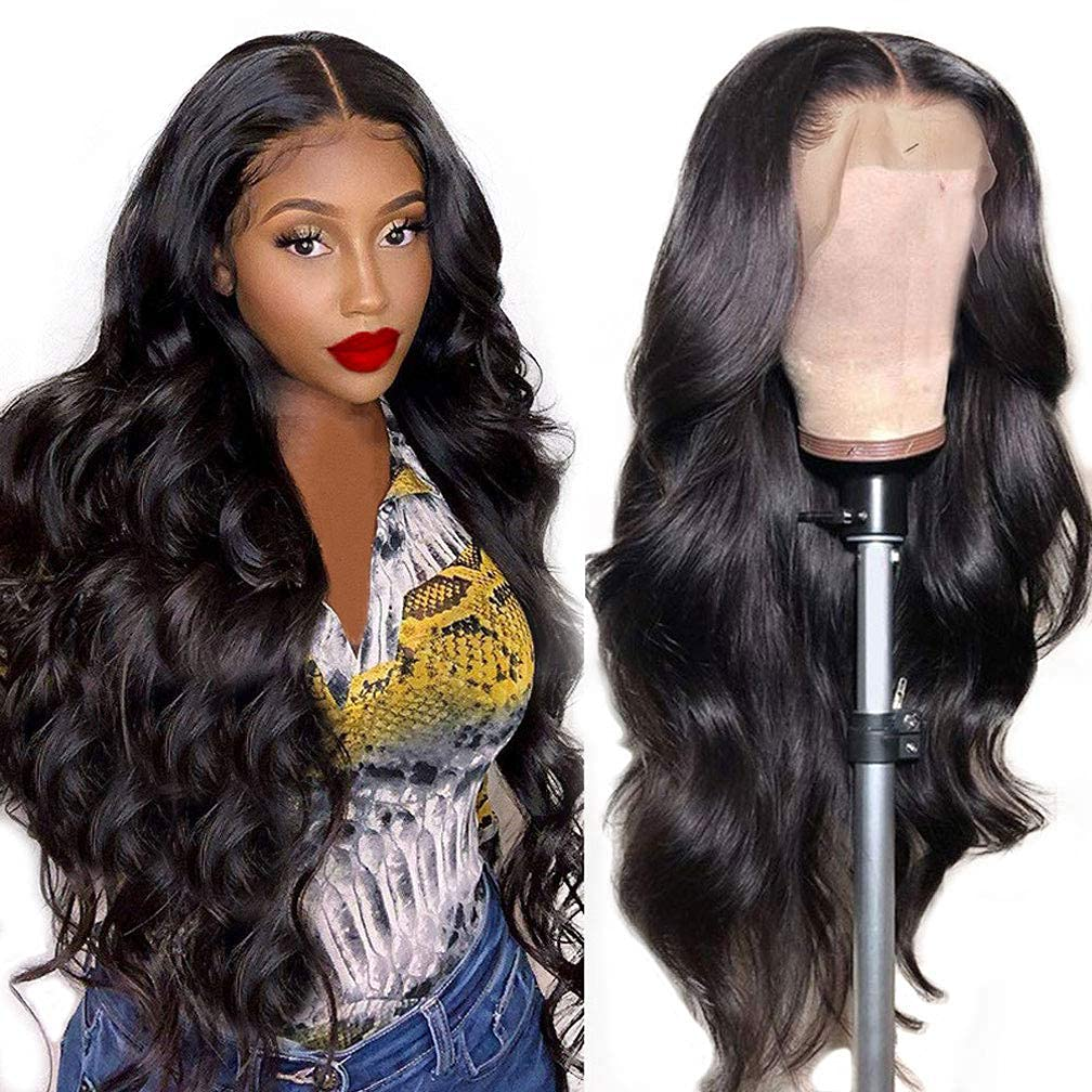 CHEETAHBEAUTY Brazilian Body Wave 人気 Lace Front Hair Wigs 13x Human お気に入り