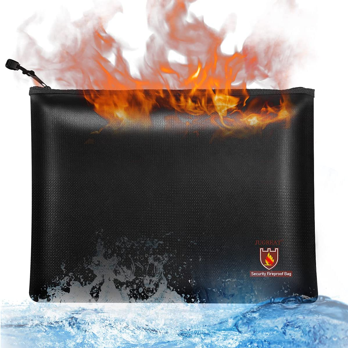 JUGREAT Fireproof Document Bag Large-scale sale 2000℉ Lowest price challenge Fir 10.5