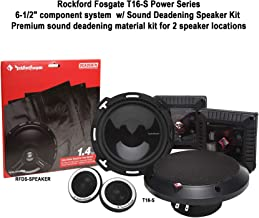 "$225 » Rockford Fosgate Power Series T16-S 6.5"" Component Speaker System + RFDS-Speaker Deadening Speaker Kit Bundle"