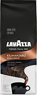 Lavazza Single Origin Kilimanjaro Ground Coffee Blend, Medium Roast, 12-Ounce Bag